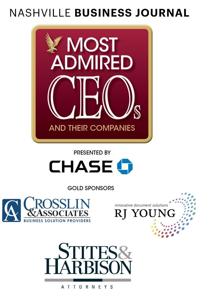 Most Admired CEOs and Their Companies Presented by Chase