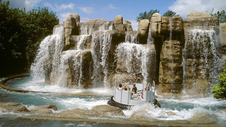 Valleyfair's Thunder Canyon water ride remains closed due to flooding, but could reopen next week.
