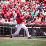 Cincinnati Reds reach season's top TV rating in victory over Cubs