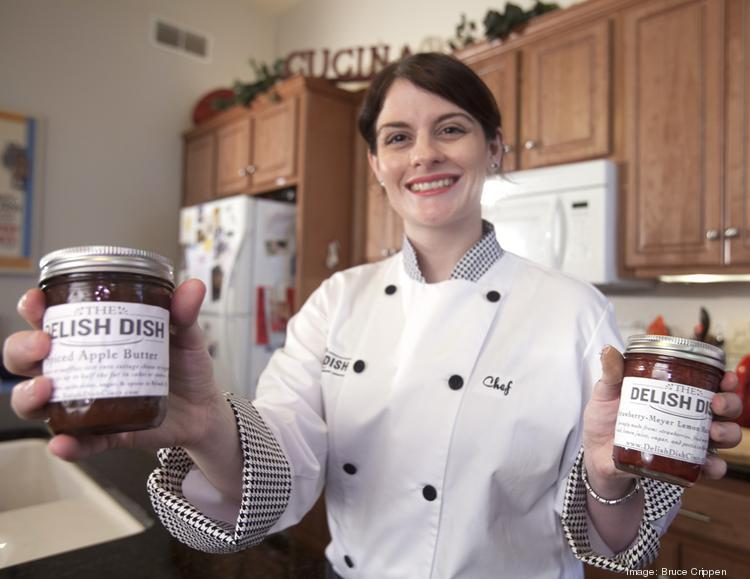 Mavis Linnemann-Clark, founder of the Delish Dish, is a former writer and editor who graduated from Kendall College culinary school. She makes her own sauces, dressing and jellies.