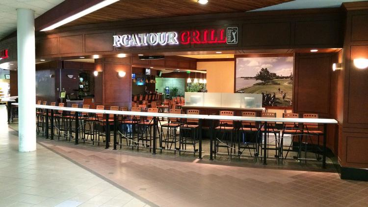 The new PGA Tour Grill at the Honolulu International Airport