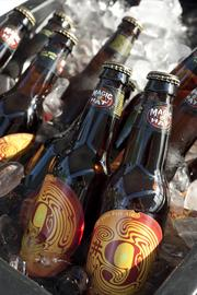 """Magic Hat Brewing Co. brought its popular #9 """"not quite Pale Ale."""""""