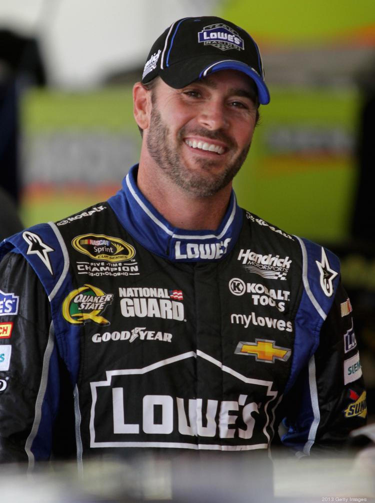 NASCAR's Jimmie Johnson, driver of the No. 48 Lowe's Chevrolet fielded by Hendrick Motorsports, was honored at the White House on Wednesday.