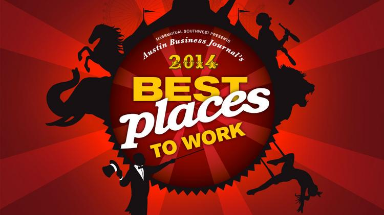 71 companies ranked among Austin's Best Places to Work in 2014.