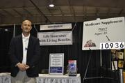 """Todd Jones with Insurance Advocates said this year's expo was one of the better one's he attended. """"I could have left at 1 (p.m.) and been happy,"""" he said. Of course, he still stayed till the end."""