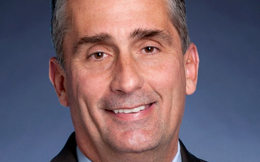 Brian Krzanich, 52, has been named CEO of Intel Corp.