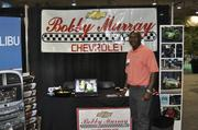Greg Carlton with Bobby Murray Chevrolet used the expo to promote the new Chevy Spark.