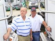 Woody and Mark Welch of Fleet  Equipment have seen truck leases increase as the trucking industry continues to grow.