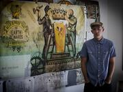 Local artist and illustrator Keith Neltner was commissioned to design the mural.
