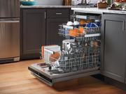 Introduced last year, the $1,099 dishwasher boasts the industry's fastest wash cycle at 30 minutes and a SatelliteSpray Arm that boosts water coverage in the machine.