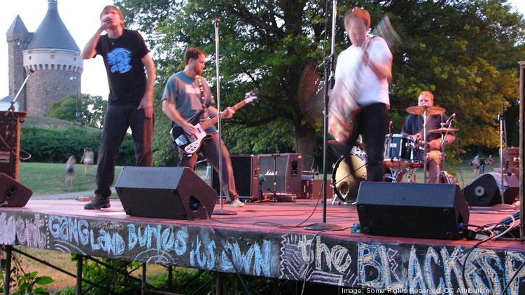 Sleeper Agent plays an concert at Fort Reno in July 2010. The annual concert series was called off and then reinvigorated in a matter of days for 2014.