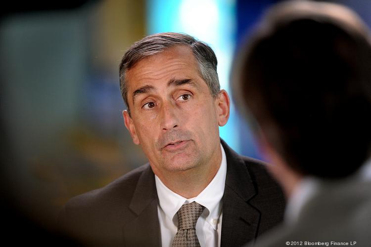 Brian Krzanich, chief operating officer of Intel Corp., unveiled a dramatic organization plan that will deepen the company's focus on mobile
