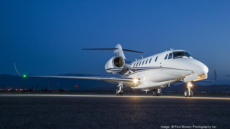 Cessna Aircraft Co.'s Citation X+ has flown across the Atlantic for the first time.