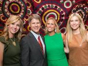 Representatives of the 2013 Kemper Museum Gala are, from left, honorary chairmen Tavia Hunt and Clark Hunt, and gala co-chairwomen Courtney Goddard and Brooke Runnion.