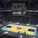 Charlotte Hornets' home court brings in bucks as well as buzz