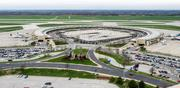 Kansas City International Airport's Terminal A, site of a proposed single terminal.