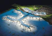A rendering of the proposed single-terminal plan.