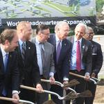 Burns & McDonnell breaks ground on headquarters expansion