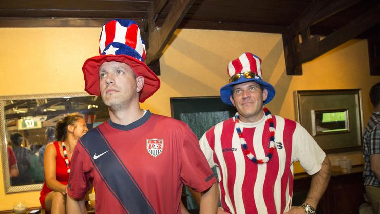 Workplace dress codes might prevent people from showing their true colors during the World Cup, but, data points suggest that people are definitely tuning in from their desks and other places.