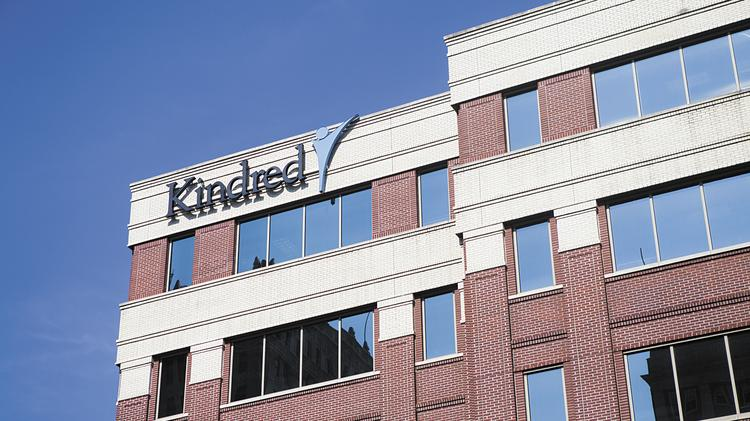 Kindred Healthcare Inc.'s  headquarters is located in downtown Louisville.