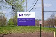 Prince William Hospital became Novant Health Prince William Medical Center earlier this month — after all, it's part of a $3.6 billion chain.