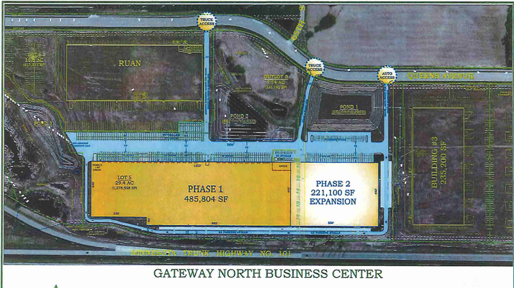 Duke Realty will start construction on a 700,000-square-foot distribution center in Otsego in August.