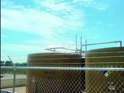 Images from a video on the Colorado Department of Public Health and Environment website show emissions from pressure relief valves at oil and gas storage tanks in Colorado. This view shows how the subject appears to the naked eye.