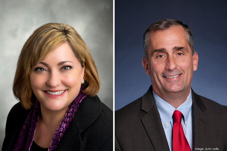 Renee James has been named Intel's new president, and Brian Krzanich will take over as its CEO.