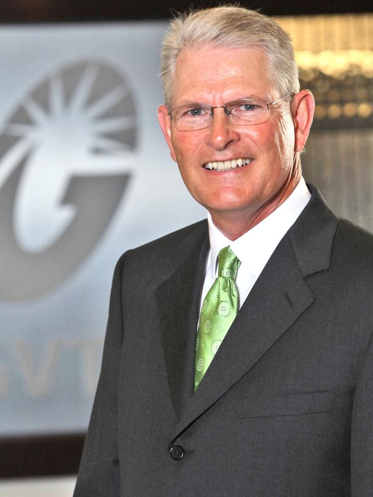 """GVTC President and CEO Ritchie Sorrells sees potential in """"GigaRegion."""""""