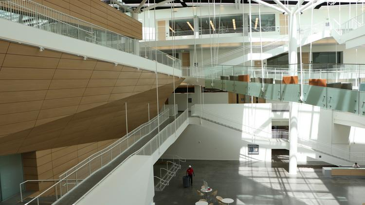 The new Collaborative Life Sciences Building will not only give stellar views, but will open students' eyes to career possibilities.