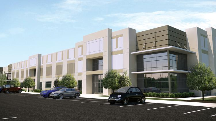 EastGroup has started a third building at Steele Creek Commerce Park that will total 108,200 square feet.