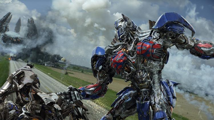 """""""Transformers: Age of Extinction"""" runs almost three hours, which could cut into ticket sales by limiting the number of showtimes, but it's playing in 3-D and on 353 Imax screens, which will boost premium pricing."""