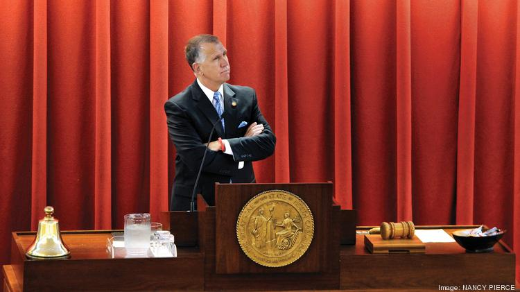The North Carolina Center for Public Policy Research's latest survey ranks N.C. House Speaker Thom Tillis (D-Mecklenburg) as the most effective lawmaker in the state House.