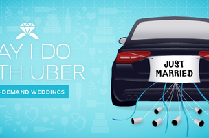 Uber wants you to say 'I Do'