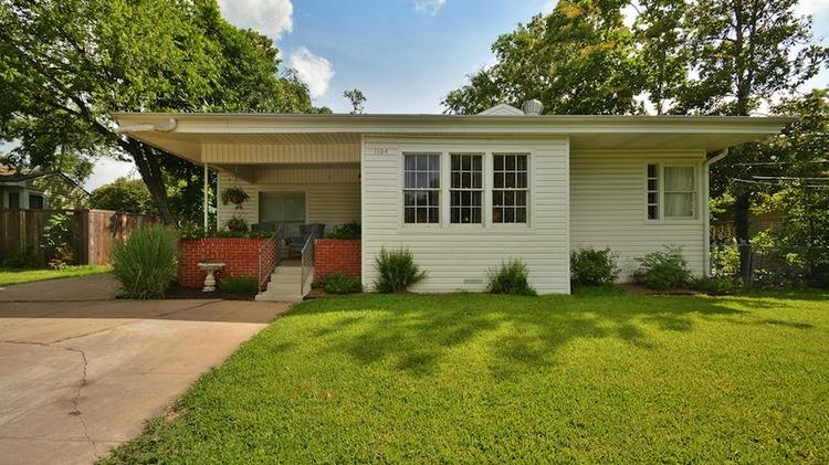 """One of the """"hot homes"""" on the market in Austin is 1104 Brentwood St., according to Seattle-based Redfin."""