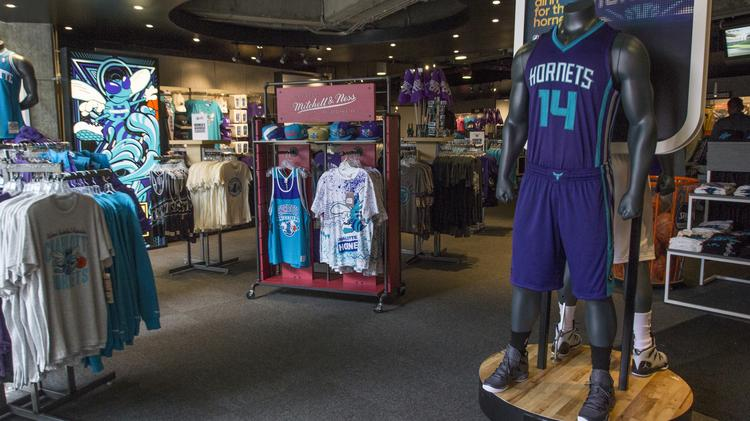 The new Charlotte Hornets uniforms, unveiled this summer, have helped rekindle fan interest in the NBA here. Next up: finding a radio home.