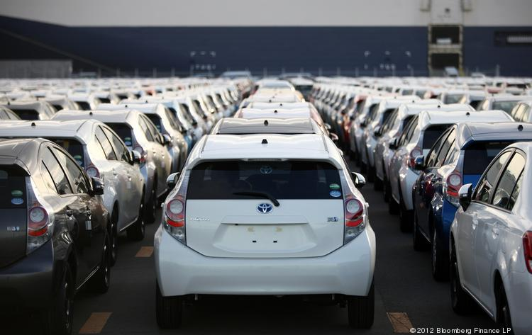 Toyota plans to ship more cars out of the Port of Baltimore beginning this summer.