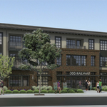 100 luxury apartments planned for downtown Campbell: Pool, spa, yoga area, bike repair