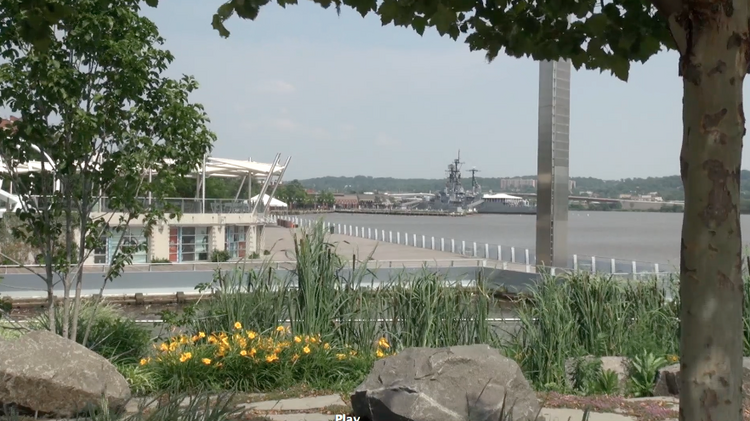 The Capitol Riverfront neighborhood has a large number of events and businesses coming to this developing area.
