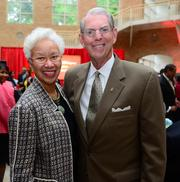 Veronica Biggins with Southwest Airlines and Bill Nordmark, president and CEO at The Nordmark Consulting Group.