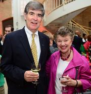Jim Breedlove, president at Fernbank Museum of Natural History, and Ann Curry, owner and president of Coxe Curry & Associates.