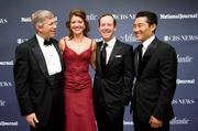 From left, Daniel Poneman, Nora O'Donnell, Geoff Tracey and Daniel Dae Kim.