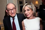Atlantic Media had a rich roster of events throughout the weekend, including the annual welcome dinner, hosted by Katherine and David Bradley. Shown here are Alan Greenspan and Andrea Mitchell.