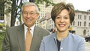 Geneva Capital Management Ltd. co-founders William Priebe and Amy Croen.