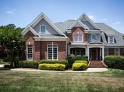 Former Carolina Hurricanes star player Justin Williams, now with the LA Kings, still owns this house at 9040 Chelsea Dr. in Raleigh.