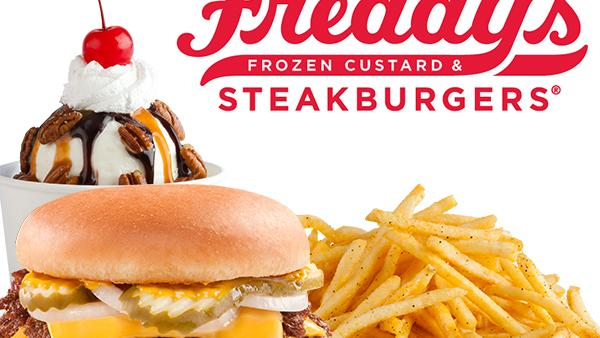 Freddy's Frozen Custard & Steakburgers has more than 122 stores across the country.