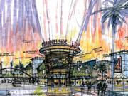 """CBP presented a vision of """"Channelside Live"""" as seen in this rendering."""