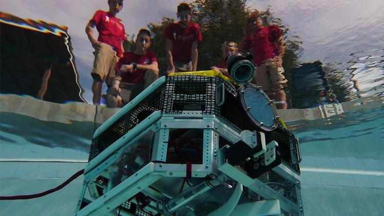 The Jesuit High School Robotics team took first place in the 13th annual Marine Advanced Technology competition for remotely operated vehicles held last week at the Thunder Bay National Marine Sanctuary.
