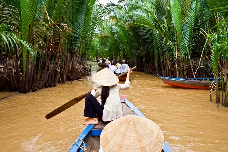 Guided tour of the Mekong River in Vietnam