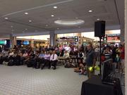 Tampa International Airport set out about 50 extra seats for World Cup viewers.